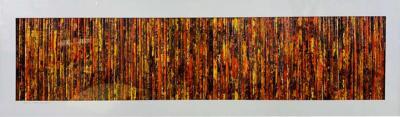 Modern Wall Art Title Prairie Grass Signed Cheryl Steven Ward