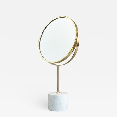 Modernist Adjustable Table Mirror Italy 1950s