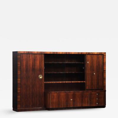 Modernist Bookcase Dry Bar