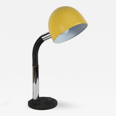 Modernist Enameld Yellow Desk Lamp