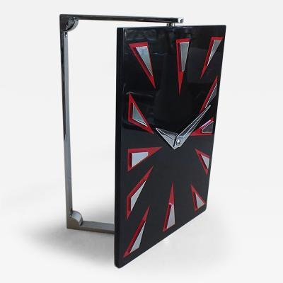 Modernist English High Art Deco Clock