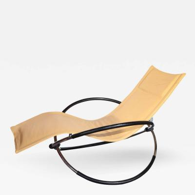 Modernist Italian Chaise Longue