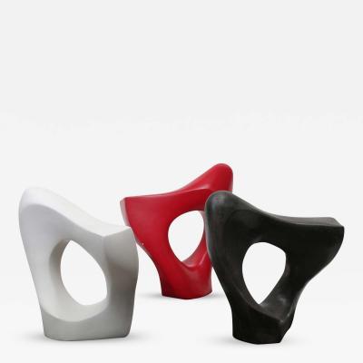 Modernist Organic Triptych Sculpture