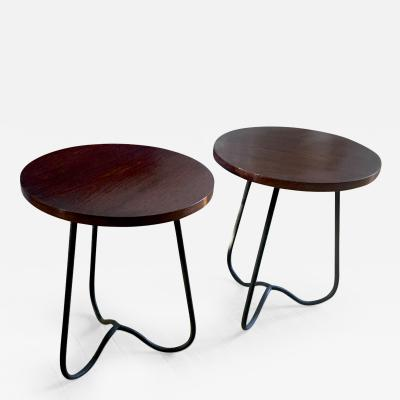 Modernist Pair of Coffee Table or Stools