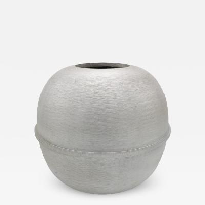 Modernist round Vase by Lorenzo Burchiellaro