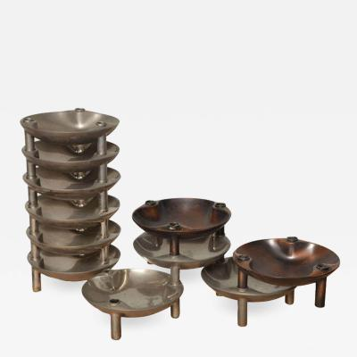 Modular Candleholder Tray by BMF Nagel