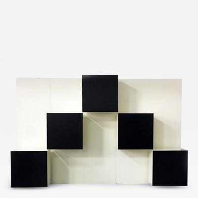 Modular wall system by R Monsani for Acerbis 1980s