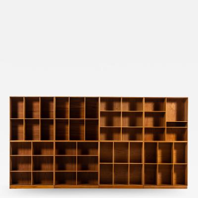 Mogens Koch Bookcases Produced by Rud Rasmussen