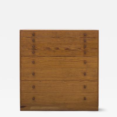 Mogens Koch Drawing Cabinet in Pine