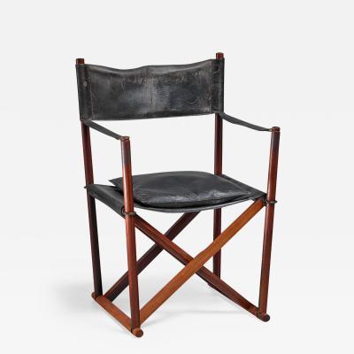 Mogens Koch Mogens Koch MK 16 Safari Chair for Interna Denmark 1960s