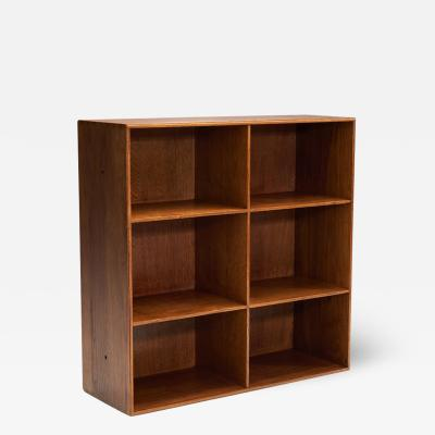 Mogens Koch Mogens Koch Oak Bookcase for Rud Rasmussen Cabinetmakers Denmark 1930s