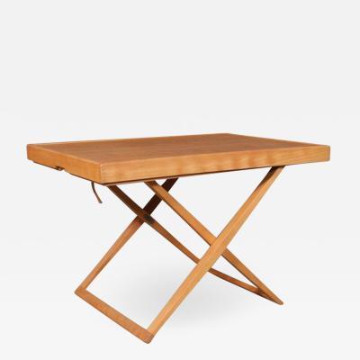 Mogens Koch Mogens Koch for Rud Rasmussen Folding table tray table of mahogany