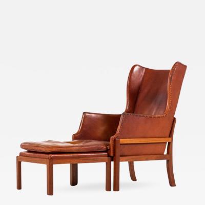 Mogens Koch Mogens Koch wingback easy chair