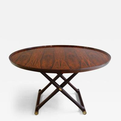 Mogens Lassen Mogens Lassen Egyptian Folding Table in Rosewood