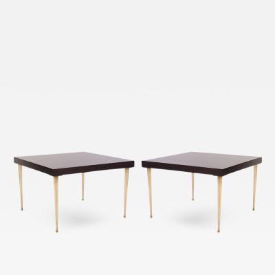 Montage Allister Tables in Ebonized Walnut