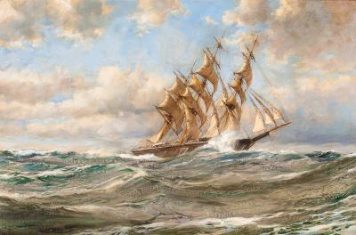 Montague Dawson Offered by VALLEJO GALLERY