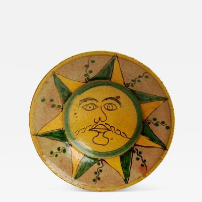 Montiel Studio Sun Plate