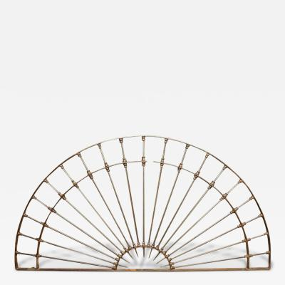 Monumental 18th Century Wrought Iron Dome Shaped Element