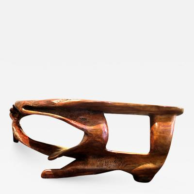 Monumental Biomorphic Root Table Desk