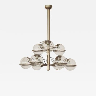 Monumental Ceiling light att to Gino Sarfatti Italy 1960s