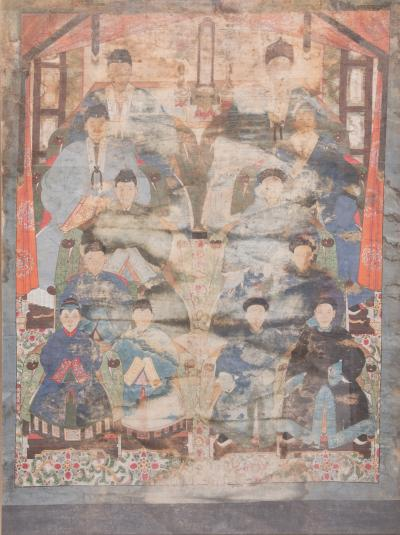 Monumental Chinese Ancestral Portrait