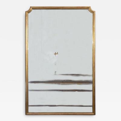 Monumental French 19th Century Louis XVI Gold Gilt Mirror
