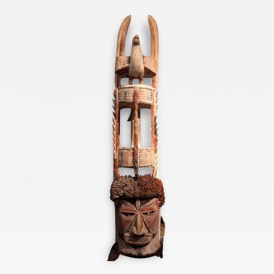Monumental New Ireland Malagan Mask