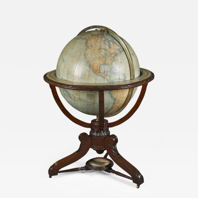 Monumental Scottish Globe on Stand
