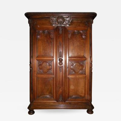 Monumental Superb French Louis XIV Armoire