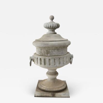 Monumental Urn Shape Zinc Finial