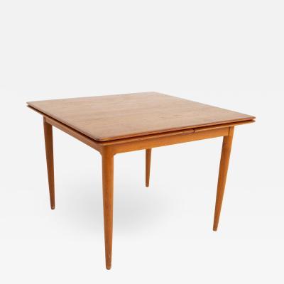 Moreddi Mid Century Teak Hidden Leaf Dining Table