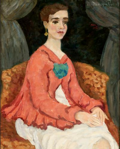 Morgan Russell Portrait of a Woman