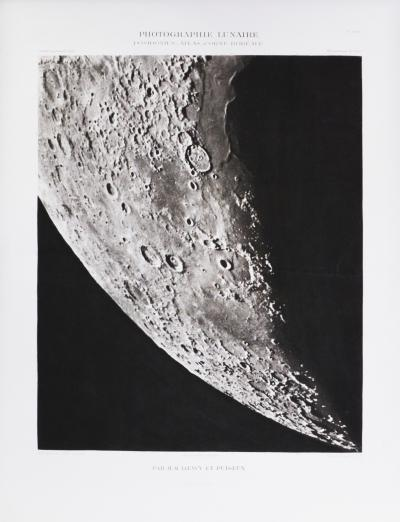 Moritz Loewy Atlas Photographique de la Lune Moons Surface by Loewy 1899