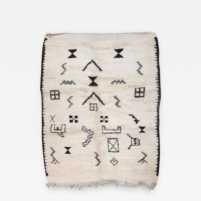 Moroccan Beni Ouarain Tribal Berber Rug