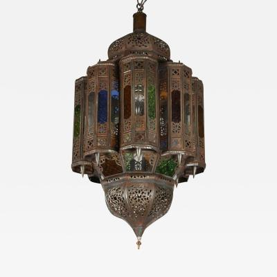 Moroccan Hand crafted Mamounia Light Fixture