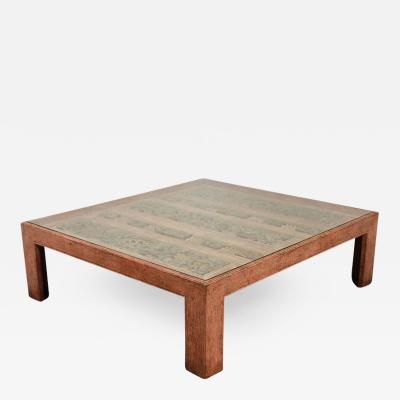 Moroccan Handcrafted Large Square Coffee Table