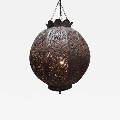 Moroccan Handcrafted Metal Pendant North Africa