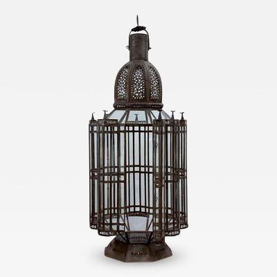 Moroccan Moorish Vintage Large Lantern