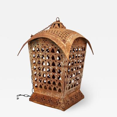 Moroccan Pierced Lantern