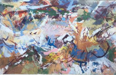 Morris M Shulman Untitled Monhegan Abstraction