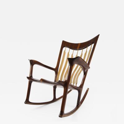 Morten Stenbaek Rocking Chair Handcrafted and Designed by Morten Stenbaek