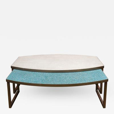 Mosaic Glass Coffee Tables