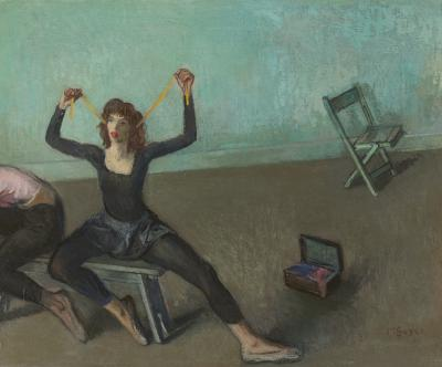 Moses Soyer Dancer
