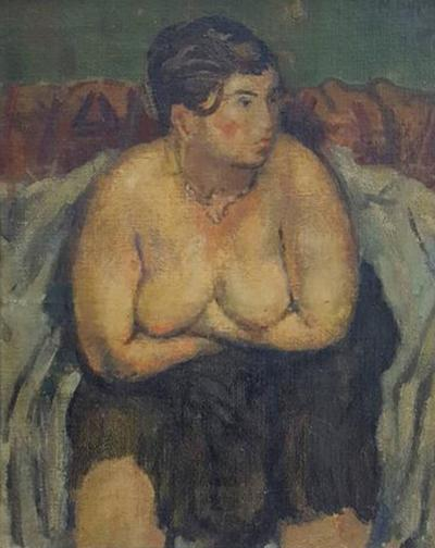 Moses Soyer Moses Soyer Sophie Painting