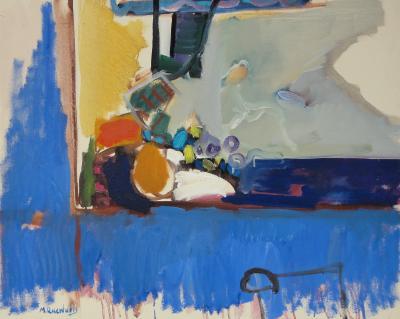 Moshe Rosenthalis Still Life in Blue