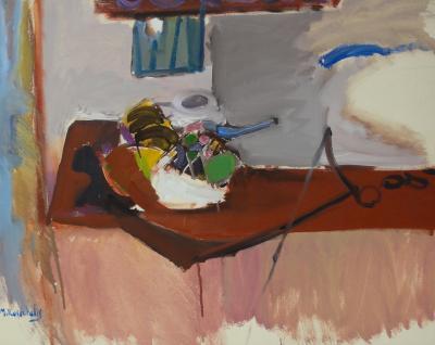 Moshe Rosenthalis Still Life in Brown