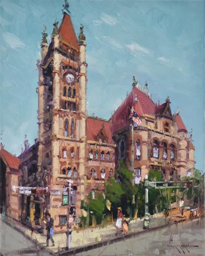 Mostafa Keyhani Cincinnati City Hall