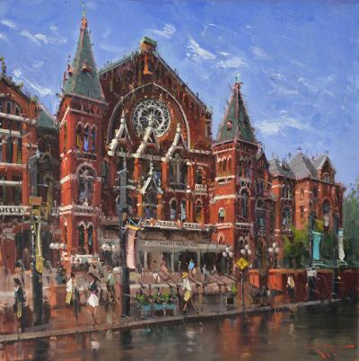 Mostafa Keyhani Cincinnati Music Hall