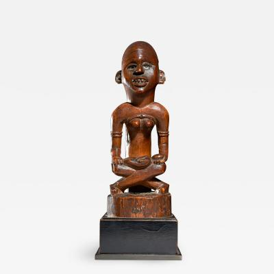 Mother and Child Figure Phemba Kongo DRC beginning 20th C