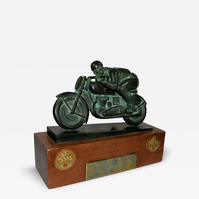 Motorcycle Racing Trophy Paris France